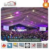 Grande tente d'événement de 3000 personnes avec l'éclairage de décoration à vendre