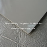 Color RAL7035 Sheet Moulding Compound SMC para depósito de agua