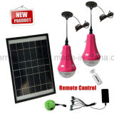 Solar Energy Solarbeleuchtung-Installationssätze für kampierendes Laterne-HauptSonnensystem-SolarStromnetz