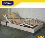 단 하나 가정 가구 유럽식 박달나무 나무 판금 조정가능한 침대 전기 침대