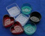 Красочные свеча контейнер/СВЕЧИ держатель для Tealight или сливочным маслом лампы