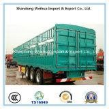 De Semi Aanhangwagen van de vrachtwagen van de Vrachtwagen van de Staak van 3 Assen van Leverancier