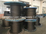 직류 전기를 통한 철강선 물가 또는 체재 받침줄 또는 Ungalvanized 철강선 밧줄