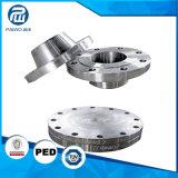 El orificio profundo modificado para requisitos particulares perforado y trabajó a máquina el borde grande y Tubesheet del diámetro