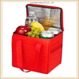 Kundenspezifischer preiswerter mehrfachverwendbarer Isolieraluminiumfolie-Kühlvorrichtung-Beutel-Mittagessen-Beutel-Thermalbeutel