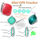 pendente di tasto dell'inseguitore di GPS della rete di 2g GSM mini con il SOS A9