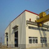 Estructura de acero ligera para el taller de la producción de la fábrica