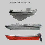 China Aqualand 19feet 23feet 5.8m 7m Fiberglass Fishing Boat (230)