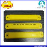 915MHz modifica di frequenza ultraelevata del Anti-Metallo RFID con il foro della vite e dell'autoadesivo