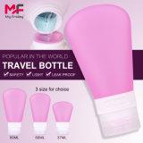 Precio competitivo Non-Toxic Mayorista de Viajes de silicona botella con 37/60/89 ml