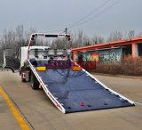 3 toneladas de grúa de plataforma plana, FAW Grúa Camión de extracción del bloque de carretera