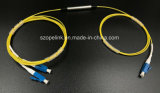 Wdm Mux/Demux van de vezel de Optische Buis van het Staal van de Filter DWDM