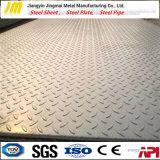 Fournisseur d'acier Hot Sale Checker plaque avec grade ASTM 1045