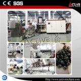 Plastic Agglomerator met de Enige Pelletiseermachine van de Extruder van de Schroef