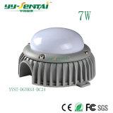 lumière en aluminium de coulage sous pression de POINT de 7W DEL (YYST-DGYKS3)