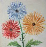 가정 훈장은 색칠 - 화포 벽 예술을
