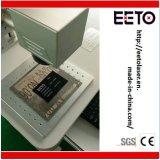 Marcador láser de metal, grabador de equipo para la impresión de logotipo