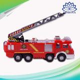 Электрический погрузчик пожарной машине распыления воды мюзикл освещения погрузчика пожаротушения спринклер пожара двигателей игрушки для детей