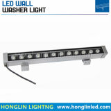 10PCS/Lot 12W impermeabilizzano la rondella luminosa della parete del proiettore LED del LED