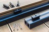 WPC Decking mit langen Nutzungsdauer-im Freien hölzernen Plastikfußböden