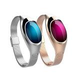 Bracelet sec de bracelet de traqueur de forme physique de Bluetooth 4.0 de mode avec le moniteur du rythme cardiaque