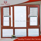 Ventana de aluminio de la ventana del obturador del perfil/del marco de la doble vidriera