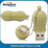 승진 공짜를 위해 최상 유일한 디자인 땅콩 모양 USB 섬광 드라이브