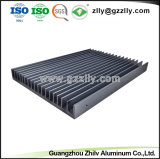 Dissipatore di calore di alluminio dell'espulsione del metallo del materiale da costruzione