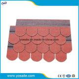 Chinesische rote dekorative Asphalt-Dach-Schindeln