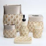 Moderne Modieuze Housewares van het Bad Polyresin voor de Waren van de Was van de Badkamers