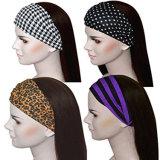 fashion Twist Headband Wide Headwear 여자 숙녀