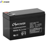bateria acidificada ao chumbo recarregável de 12V 7ah para o sistema do UPS