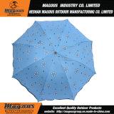 反紫外線黒い上塗を施してある傘を折る57cm*8K