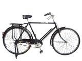 Bicicleta tradicional com peças da bicicleta