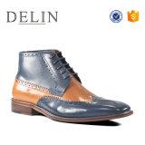 Lujo Delin Bota de cuero original nuevo zapato formal