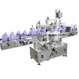 De volledig-automatische Vlakke Machine van de Etikettering van de Fles van Flessen Plastic Tweezijdige