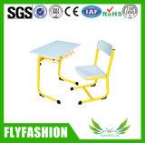 Mesa do estudante da sala de aula e cadeira anexadas Quente-Venda (SF-57S)