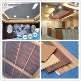 Houten Plafond gelijkstroom-80 van pvc van het Ontwerp