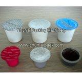 Materiale da otturazione del caffè e macchina automatici di sigillamento