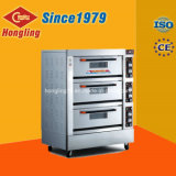 Four électrique de plateau du paquet 6 du matériel 3 de traitement au four de cuisine de Hongling