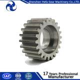 Engranaje de transmisión del metal de la rueda del acero de aleación del estándar de ISO del OEM