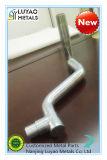El zincado Spart máquina piezas con el mecanizado de acero y doblando y soldando