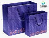 Buena calidad de impresión personalizado embalaje bolsa de papel Asa Regalo San Valentín.