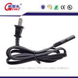 El cable importa los pies del cable eléctrico de 2-Pack 2-Slot 6 (nema 1-15P a IEC C7)