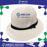 女性のバケツのペーパー麦わら帽子(AZ011A)
