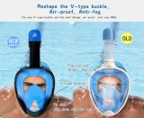 BSCI Swimming Goggles Mask Anti-Fog Full Face Snorkel Mask