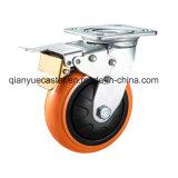 De oranje Op zwaar werk berekende Gietmachine van de Kleur Pu, Wartel, Plastic Dekking