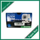 Contenitore di imballaggio ondulato lucido nero della macchina fotografica (FP6073)