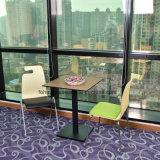 Экономящий пространство наращиваемые Bentwood стул с мягкими кожаными креслами сенсорной панели
