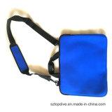 Sac de caisse de chemise de cahier d'ordinateur portatif du néoprène avec la courroie de traitement et d'épaule ajustée pour ' ordinateur portatif 8